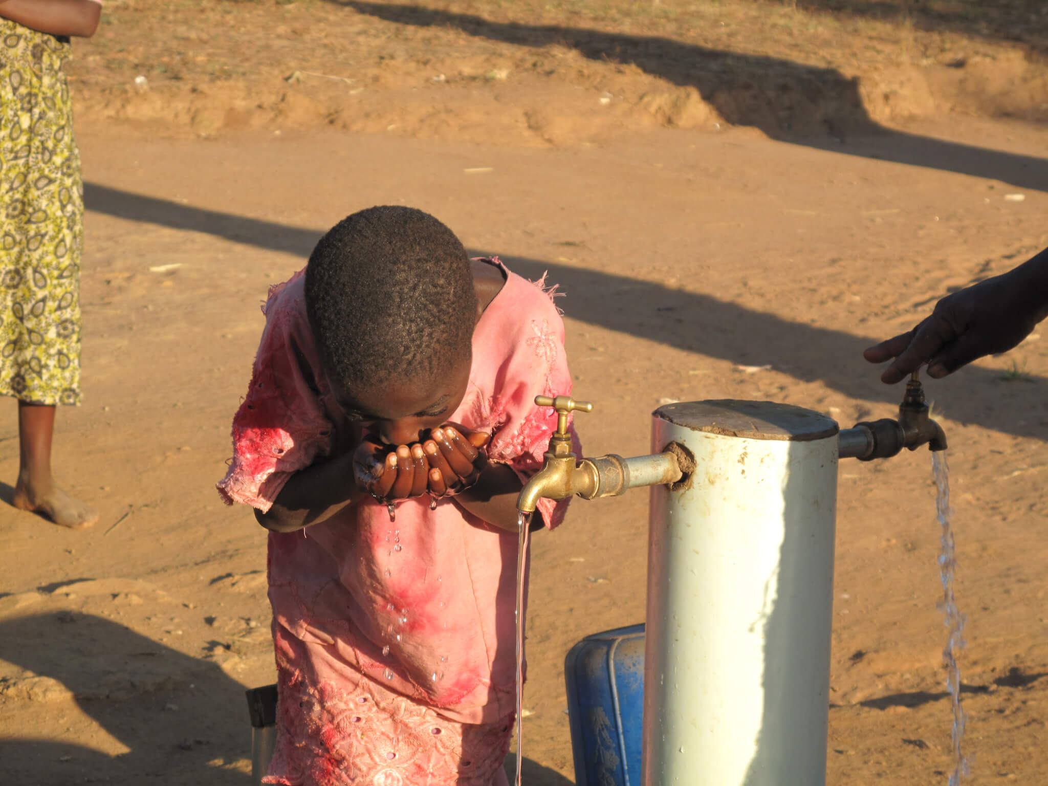 Water Mission Kid Using water